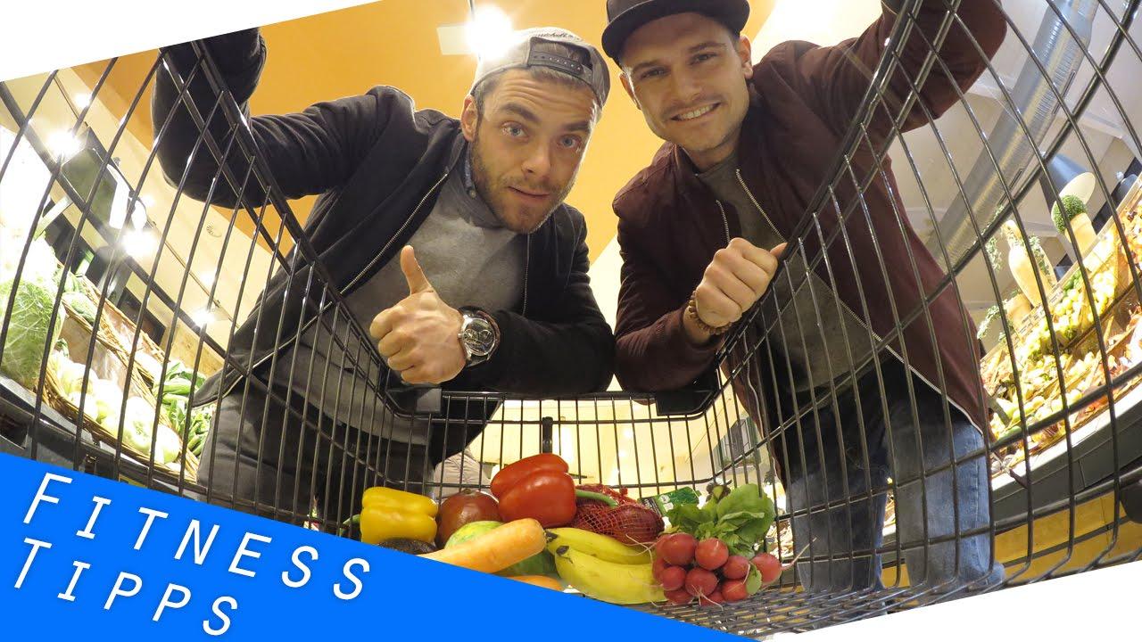 Fitness Einkauf - gesunde Lebensmittel für den Muskelaufbau #1