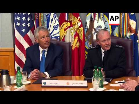 Defence Secretary Chuck Hagel says he will not let  budget cuts erode military's capacity