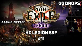 [Path of Exile] Hilarious bug, GG Drops & progress + Atlas update | 3.7 Legion HC SSF #11