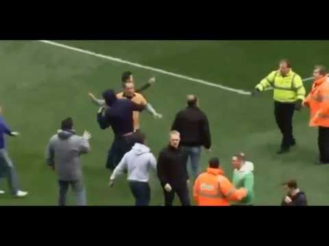 Wolves Fans Riot After Loosing To Burnley