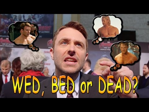 Wed Bed or Dead: Avengers 2 Premiere Edition!