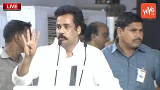 Actor Sivaji Speech @Chandrababu Naidu Dharma Porata Deeksha | AP Special Status