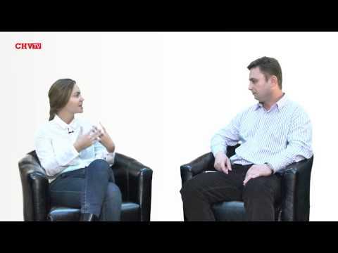 Олена Сотник в студії CHV.TV
