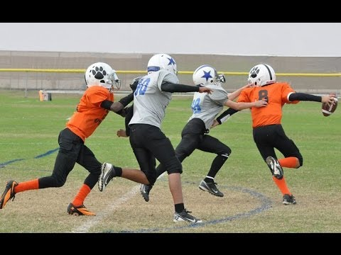 Passing Highlights 2013 - Arlington Tx Football - 6th Grade QB Pass Plays