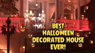The BEST Halloween Decorated House EVER | Ghost Manor in New Orleans