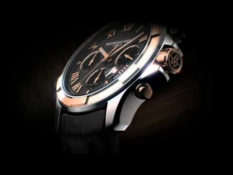Authentic Watches: RAYMOND WEIL commercial