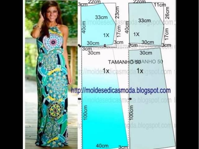 Как сшить простое платье своими руками для  626