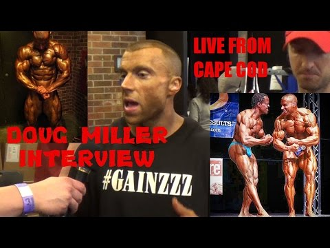 Doug Miller Interview after Gaspari Pro Win in Cape Cod, Alongside Cliff Wilson