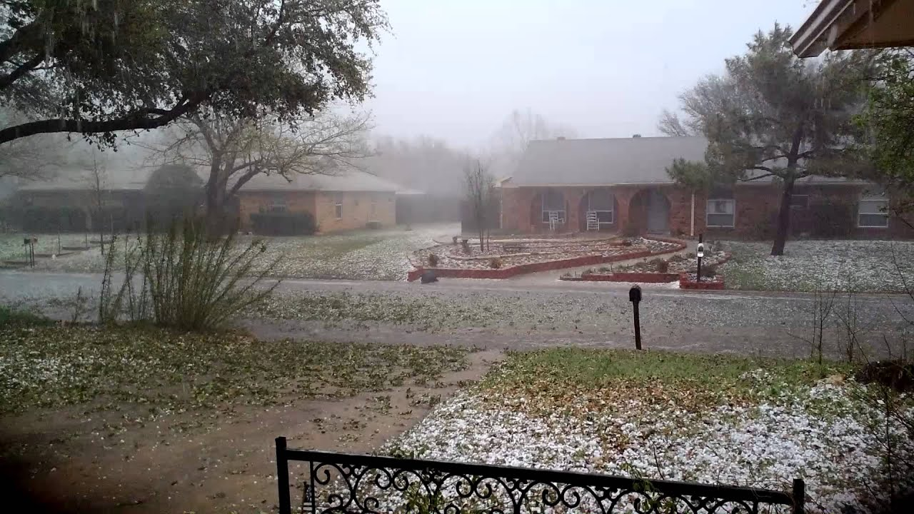 Denton Hail Storm