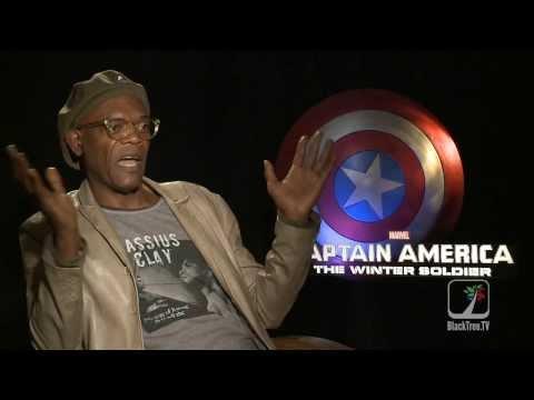 Samuel L. Jackson Interview Captain America: The Winter Soldier