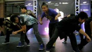 Quest Crew Fox Valley Mall Chicago [Samsung Tour] (1st Performance)