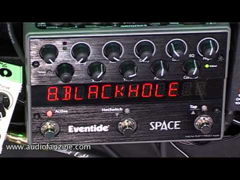 Eventide Space Video Demo [NAMM 2011]