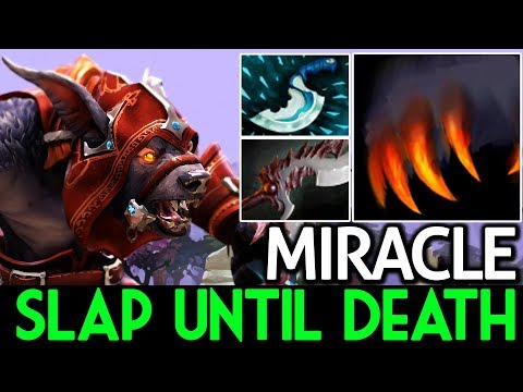 Miracle- [Ursa] Slap Until Death with Dagger 7.15 Dota 2