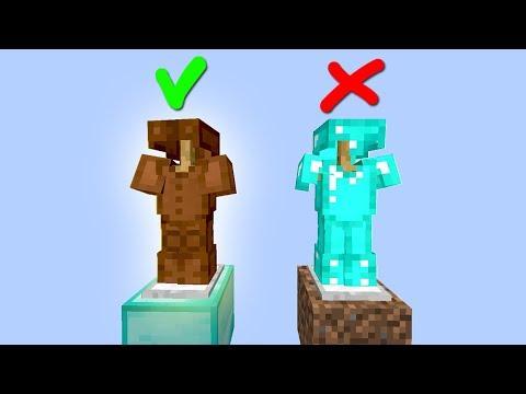 БЕЗ АЛМАЗНОЙ БРОНИ НЕВОЗМОЖНО ПОБЕДИТЬ? СЕЙЧАС ПРОВЕРИМ! - (Minecraft SkyGiants)