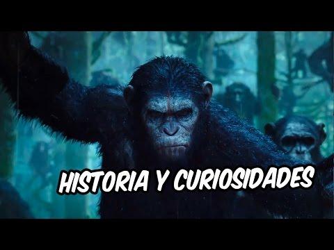 Historia y curiosidades del Planeta de los Simios