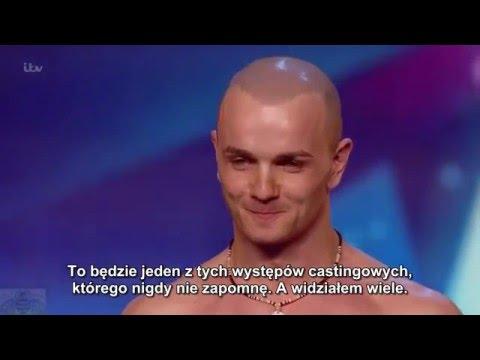 (Napisy)Brytyjski Mam Talent 10 - Alex Magala