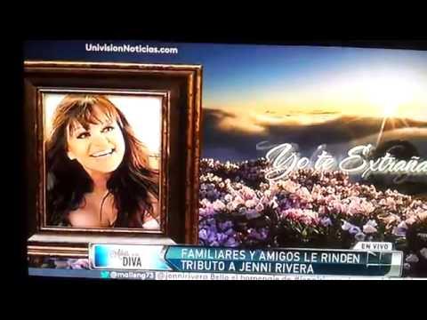 YO TE EXTRAÑARE (LUPILLO RIVERA)video OFICIAL despedida a JENNY Rivera