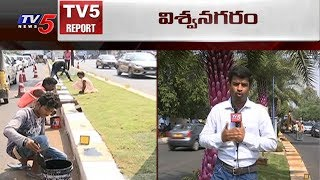 నగరం ముస్తాబు.. | Ivanka Trump Effect in Hyderabad