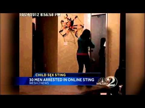 Orange Co. online sex sting nets 31 - YouTube