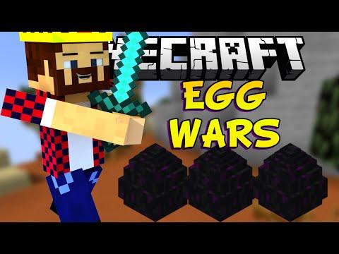 ЗАМЕДЛЕННАЯ БИТВА - Minecraft EGG Wars (Mini-Game)