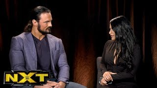 "Zelina Vega claims NXT Champion Drew McIntyre is ducking Andrade ""Cien"" Almas: WWE NXT, Oct 18, 2017"