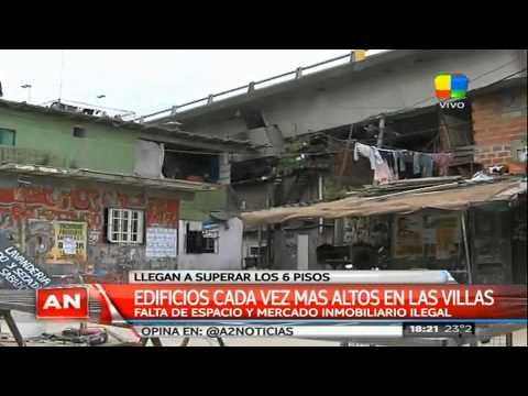 Las villas porteñas se parecen a las favelas