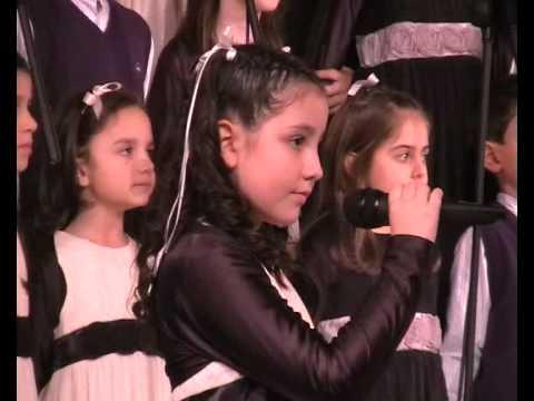Piccolo Coro SantEfisio Fiera CA 13 12 09 Lo scriverò nel ventosolista ANGELICA IBBA