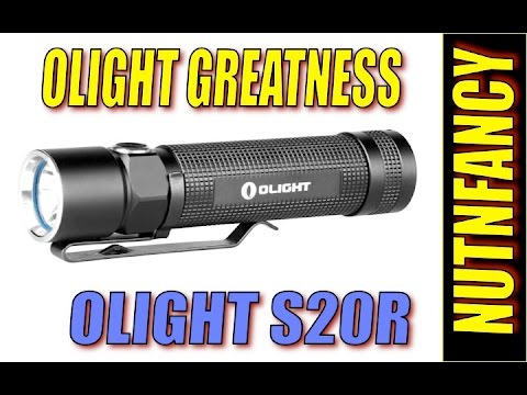 Nutnfancy Review on Olight S20R flashlight: Favorite EDC Light