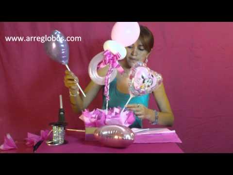 Centro de mesa Baby Shower  www.arreglobos.com