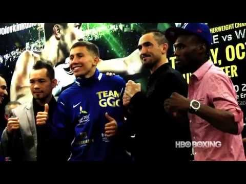 HBO Boxing News: Golovkin vs. Rubio Final Press Conference