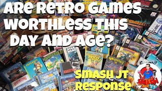 Are Retro Games Really Useless? Smash JT response