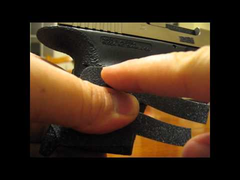 Glock 30 grip reduction talon grips grip installation Jeff Shoots Stuff