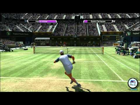 Virtua テニス 4 PC Gameplay - Jim クーリエ vs Rafael ナダル