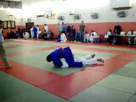 Ciaran 100+kg Judo Ireland All-Irelands Fight 1