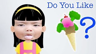 Do You Like Broccoli Ice Cream? Simple kids songs TV | Video Fun