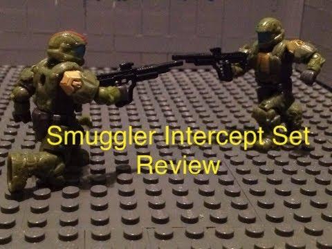 Halo Mega Bloks Smuggler Intercept Set Review
