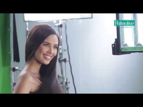 Behind the Scenes EXCLUSIVE of Megan Youngs Palmolive Conditioner Commercial