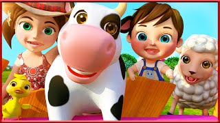 Bingo Dog Song | THE BEST Nursery Rhymes and Songs for Children