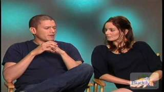 Wentworth Miller and Sarah Wayneies Interview Part 1