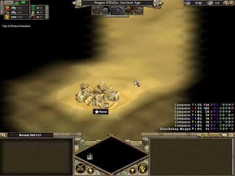 Let's Play Rise of Nations Rome Part 1 (The Start)