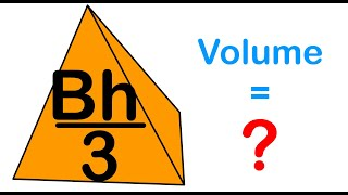 Volume of a Pyramid, Deriving the Formula