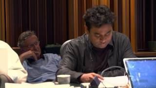The Hundred Foot Journey: Scoring Session - Composer A. R. Rahman