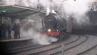 46115 Scots Guardsman on 1z86 Winter CME at Carlisle on 28-01-17