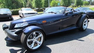 2001 Chrysler (Plymouth) Prowler Mulholland Edition Start Up, Test Drive, and In Depth Review