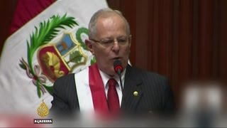 Pedro Pablo Kuczynski sworn in as Peru's president