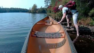 Adirondack Paddling Waters – Seven Carries Route