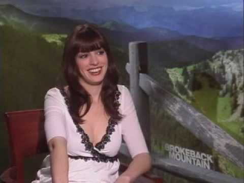 Anne Hathaway Brokeback Mountain Stephen Holt Show