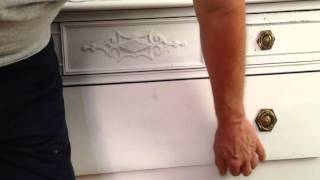 How to Fix Sticking and Hanging Drawers, old carpenter tricks
