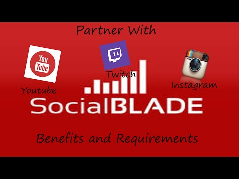 Social Blade Partnership - Benefits and requirements