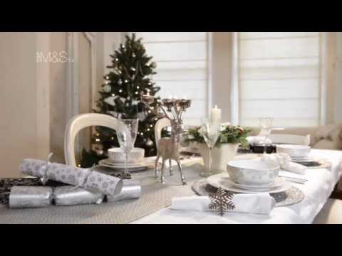 How To Set A Table This Christmas Marks And Spencer 2011